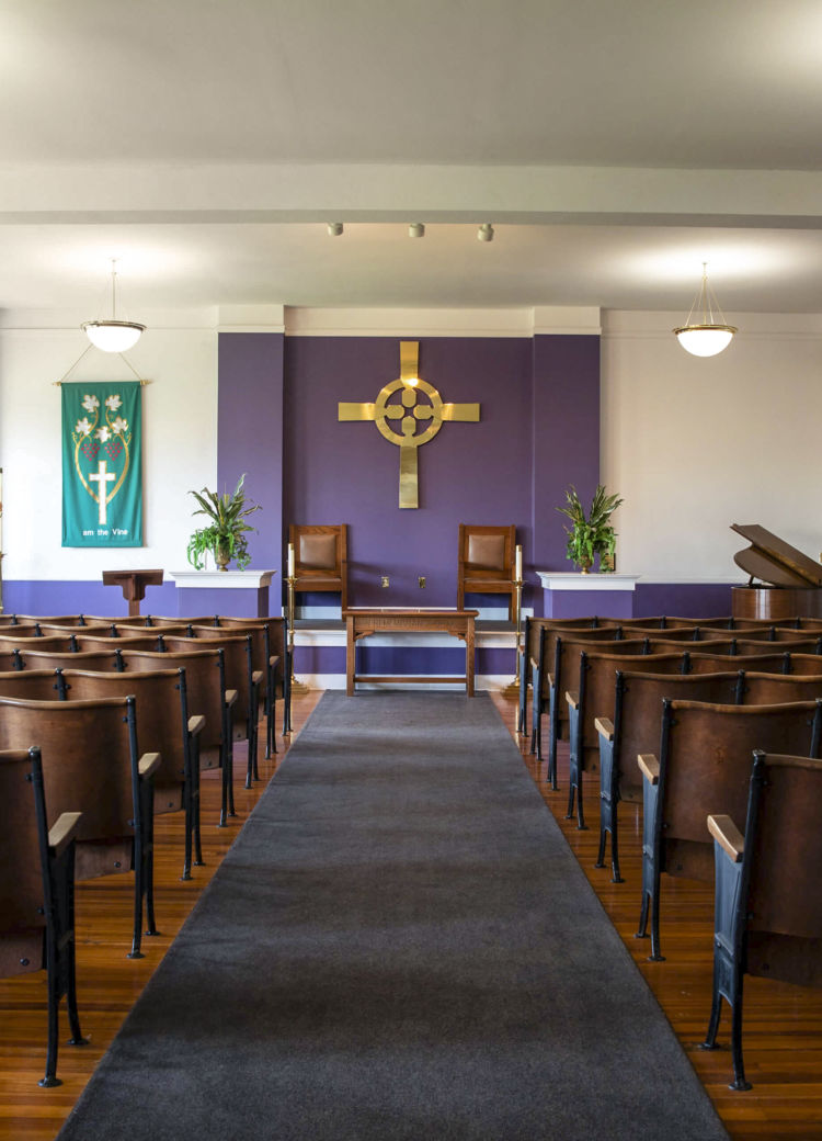 the chapel on campus